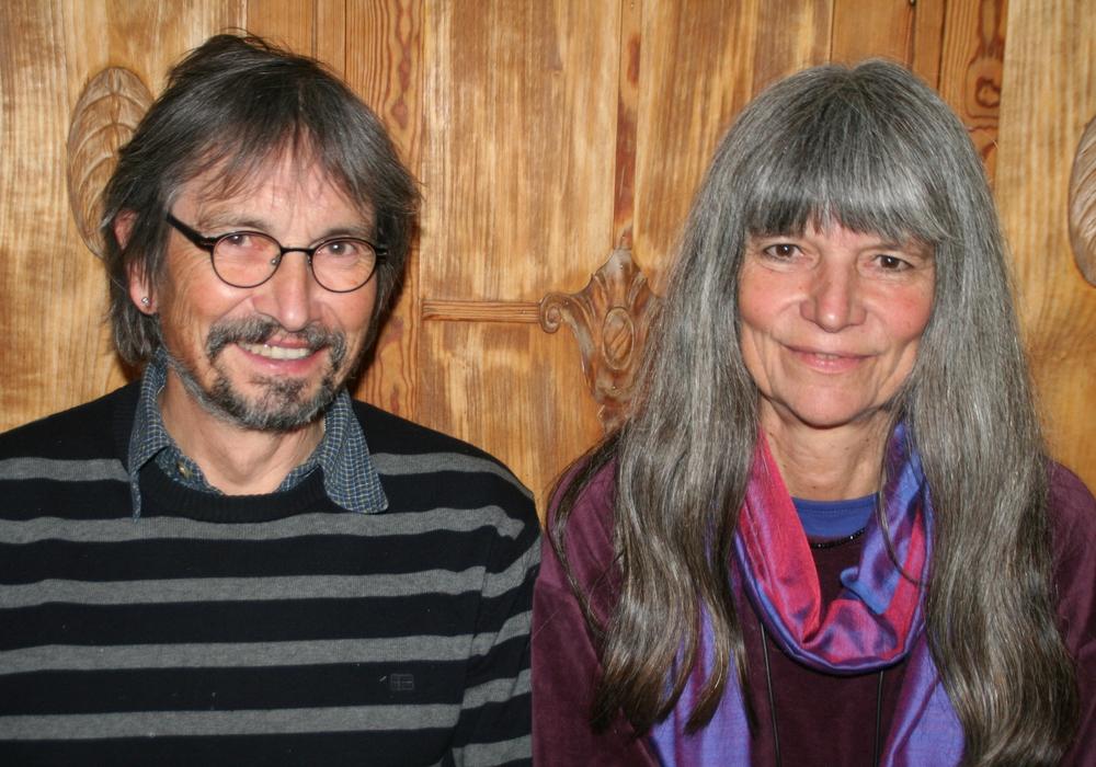 Sabine Auschra und Diethelm Krause-Hotopp bilden die grüne Fraktion im Destedter Ortsrat. Foto: Christian Rothe-Auschra