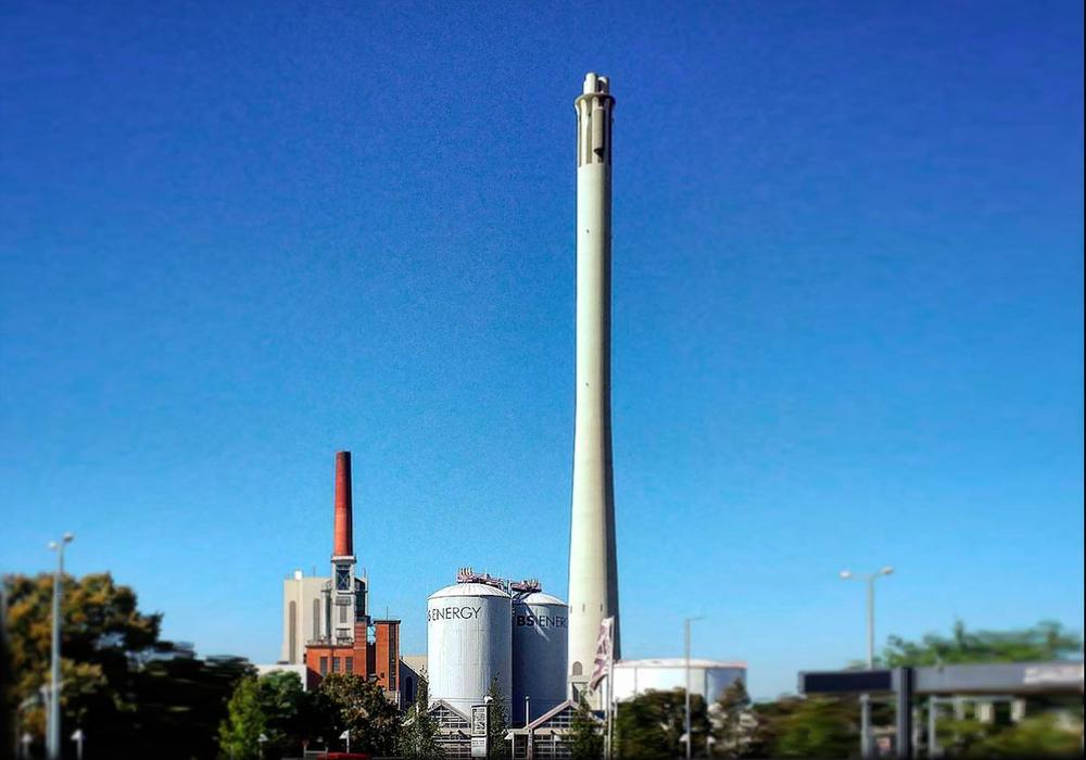 Das Heizukraftwerk Mitte. (Archivbild)