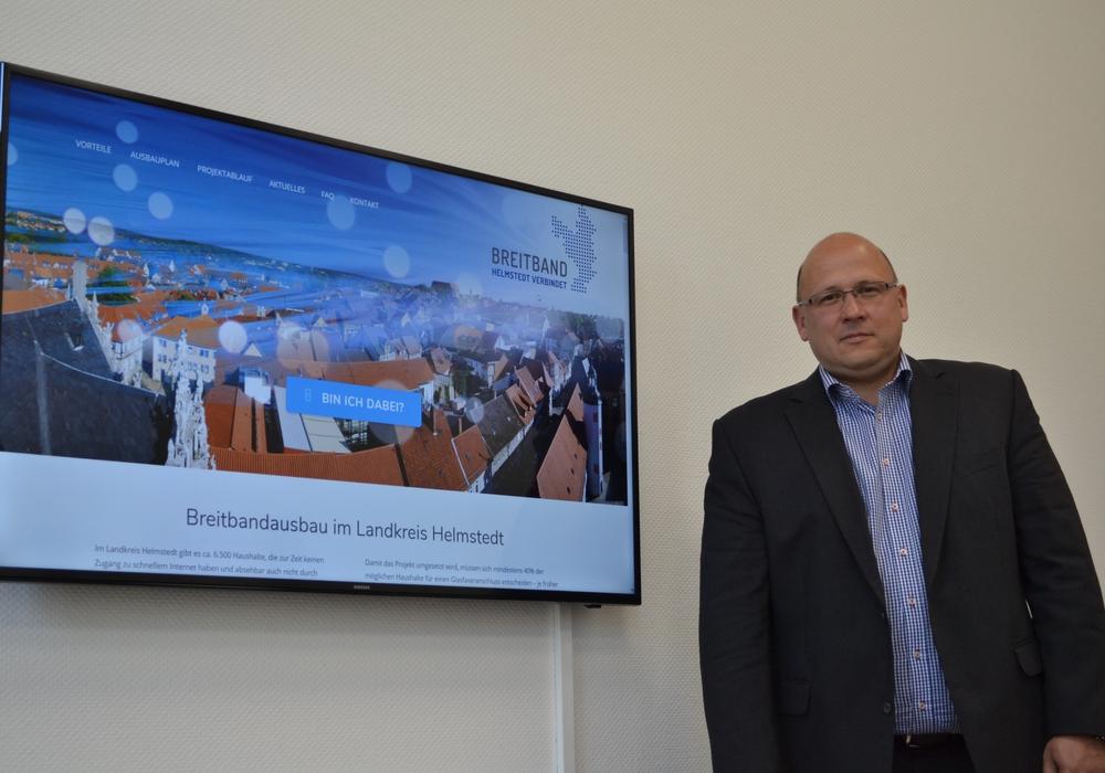 Die neue Homepage zum Breitbandprojekt des Landkreises Helmstedt ist seit Anfang Mai online. Foto: Landkreis Helmstedt