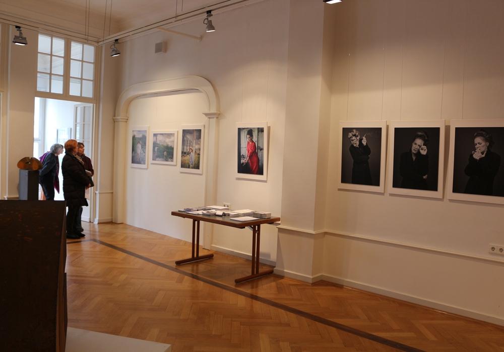 Ankauf von Kunstwerken für den Frühjahrssalon. Foto: Robert Braumann