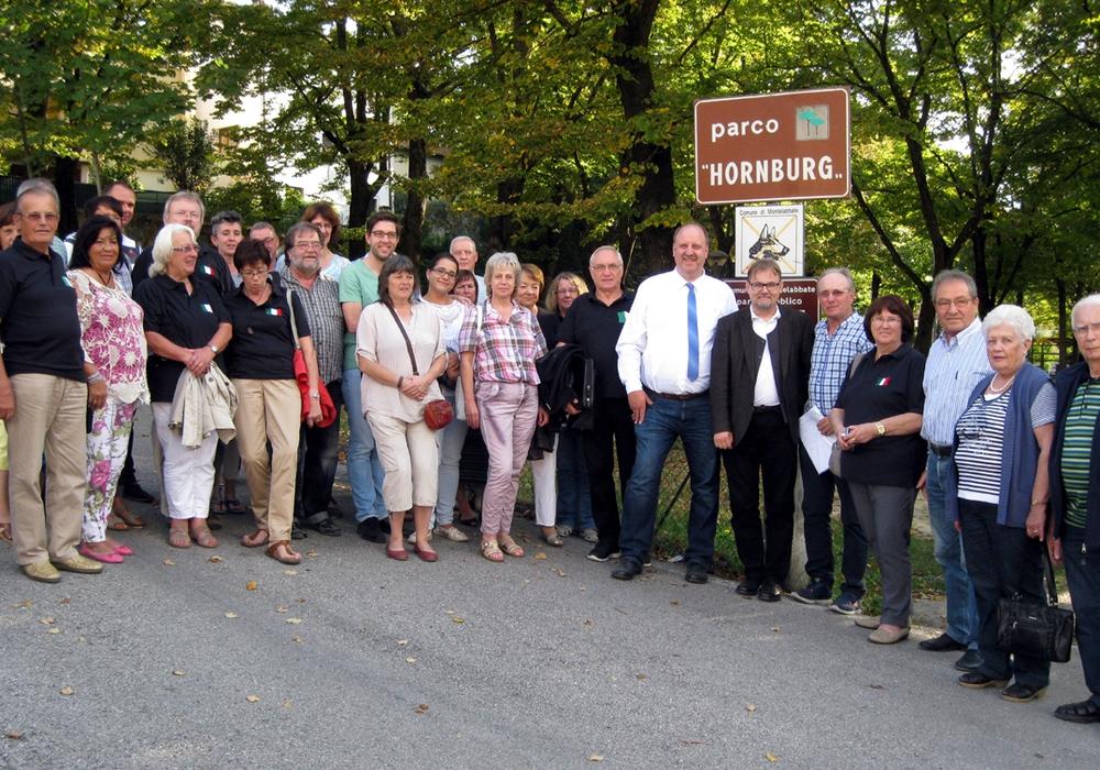Der Deutsch-Italienische Freundschaftsverein aus Hornburg besuchte die Partnerstadt Montelabbate in Italien. Fotos: Peter Illner