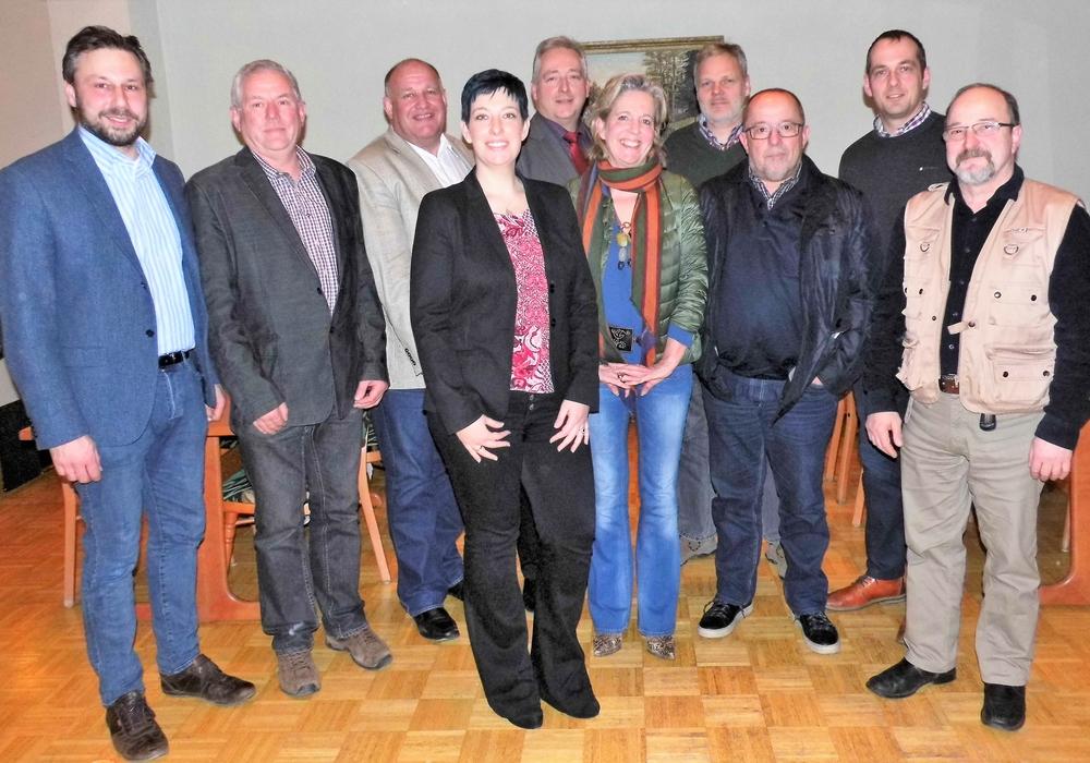 Von links: Michael Coselli, Hans-Joachim Bruer, Norbert Löhr, Sarah Grabenhorst-Quidde, Frank Oesterhelweg, Helena v. Cramm, Ralf Bartels, Heinz Buse, Harm Waßmuß und Wolfgang Wöllke. Foto: Privat