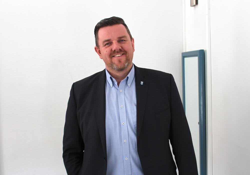 Andreas Busch, Lehrscher Bürgermeister.