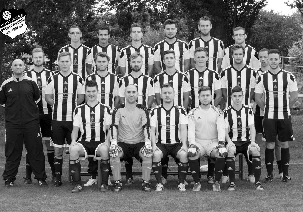 1. Herrenmannschaft des Hoitlinger SV Foto: Hoitlinger SV