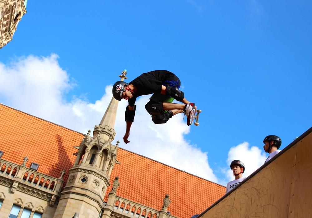 Die Skateranlage in Helmstedt soll ein vollständig neues Konzept bekommen. Symbolbild: Sina Rühland