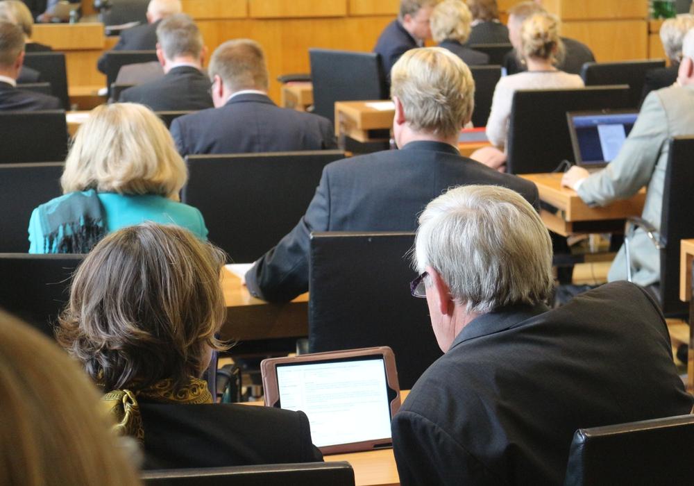 Der Haushalt wird im Rat meist sehr zeitintensiv diskutiert. Die AfD möchte daher dafür eine eigene Sitzung. Foto: Archiv/Robert Braumann