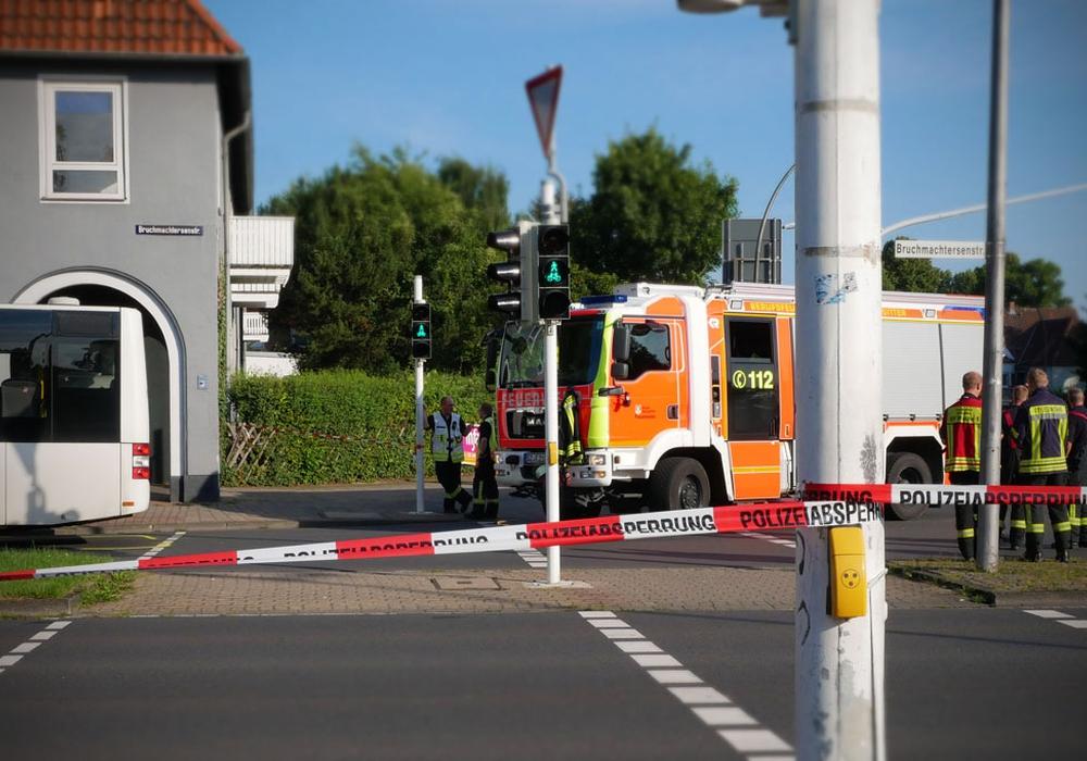 Die Ampel zeigte zum Zeitpunkt des Unfalls Grünlicht. Foto: Alexander Panknin