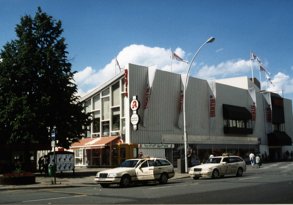 Das Kaufhaus existierte jahrzehntelang. Foto: Stadt Wolfsburg (IZS)