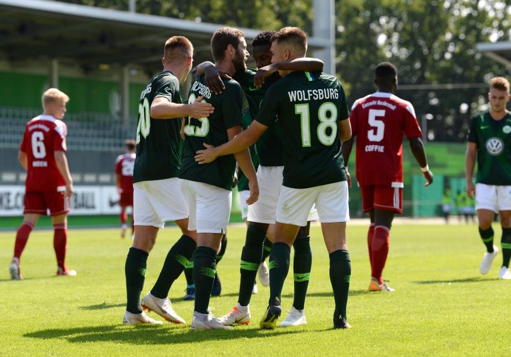 Abgezockte Vorstellung der U23 des VfL. Fotos: Moritz Eden