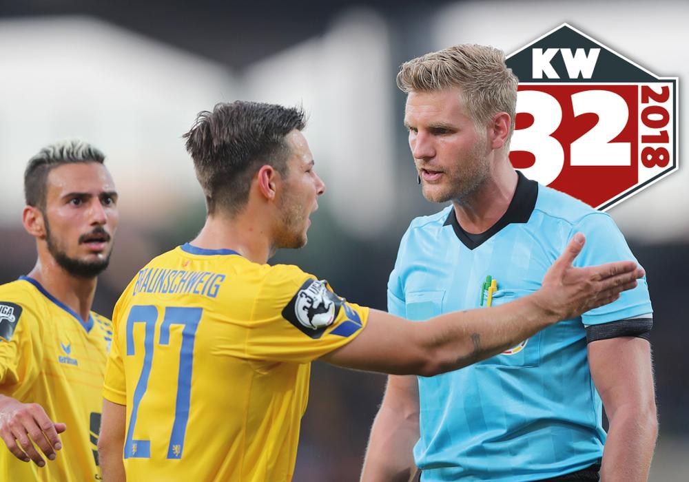 Onur Bulut und Niko Kijewski wollen mit Eintracht Braunschweig den ersten Sieg der Saison einfahren. Foto: Agentur Hübner