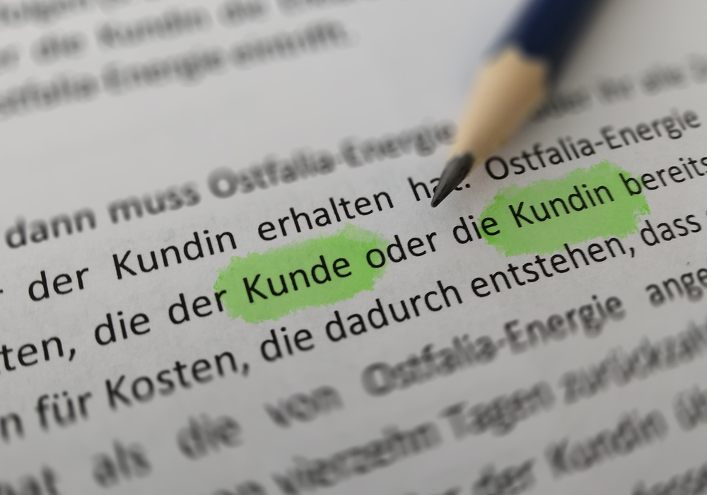 Geschlechterbewusste Sprache. Foto: János Krüger/TU Braunschweig