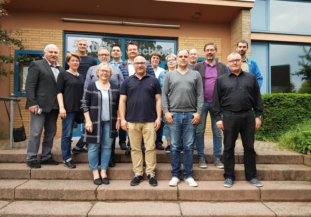 Gruppenfoto: Gemeinde Lehre
