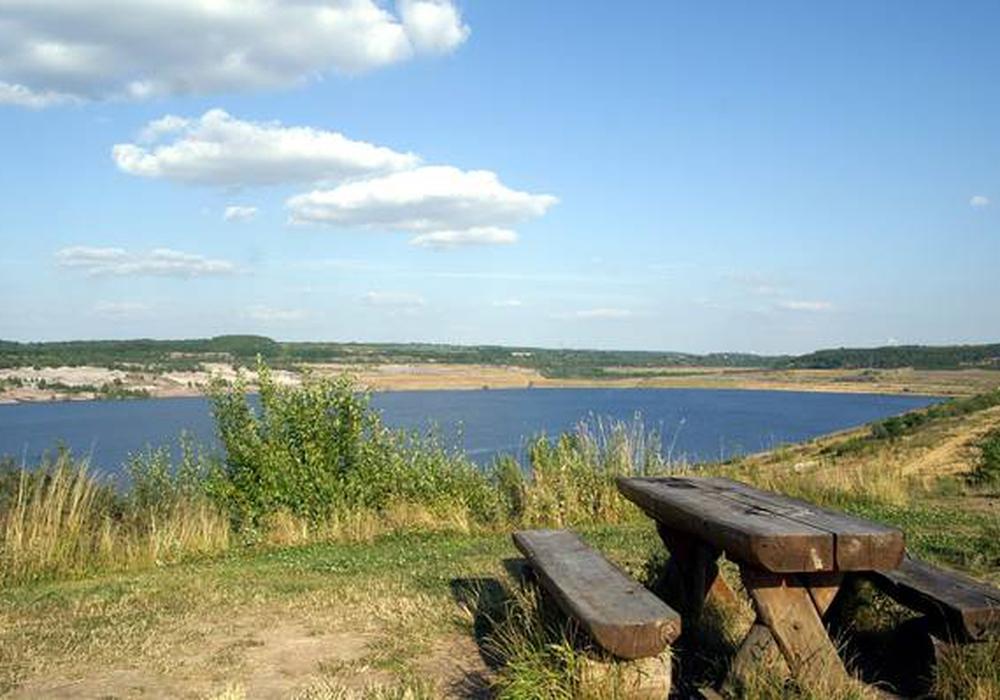 Das Naherholungsgebiet am Lappwaldsee. Symbolfoto: Stadt Helmstedt