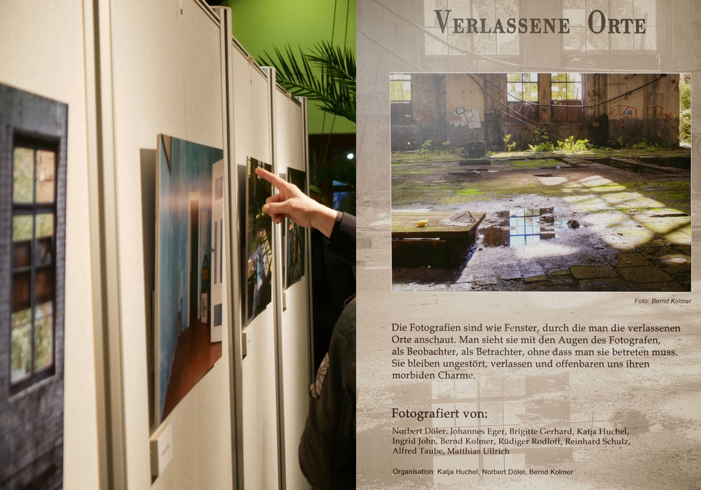 Auf der Fotoausstellung gab es schaurig schöne Orte zu sehen. Foto: Alexander Panknin