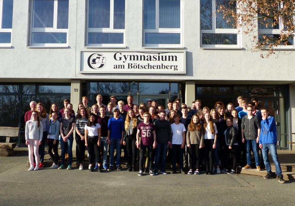 Besuch aus Frankreich und Holland am Bötschenberg Gymnasium. Foto: Bötschenberg Gymnasium