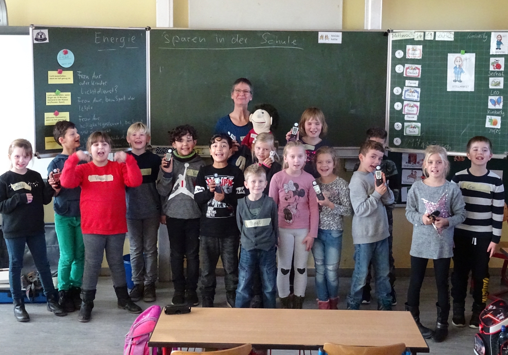 Klasse 3b der Fröbelschule am 14. November. Foto: Stadt Peine