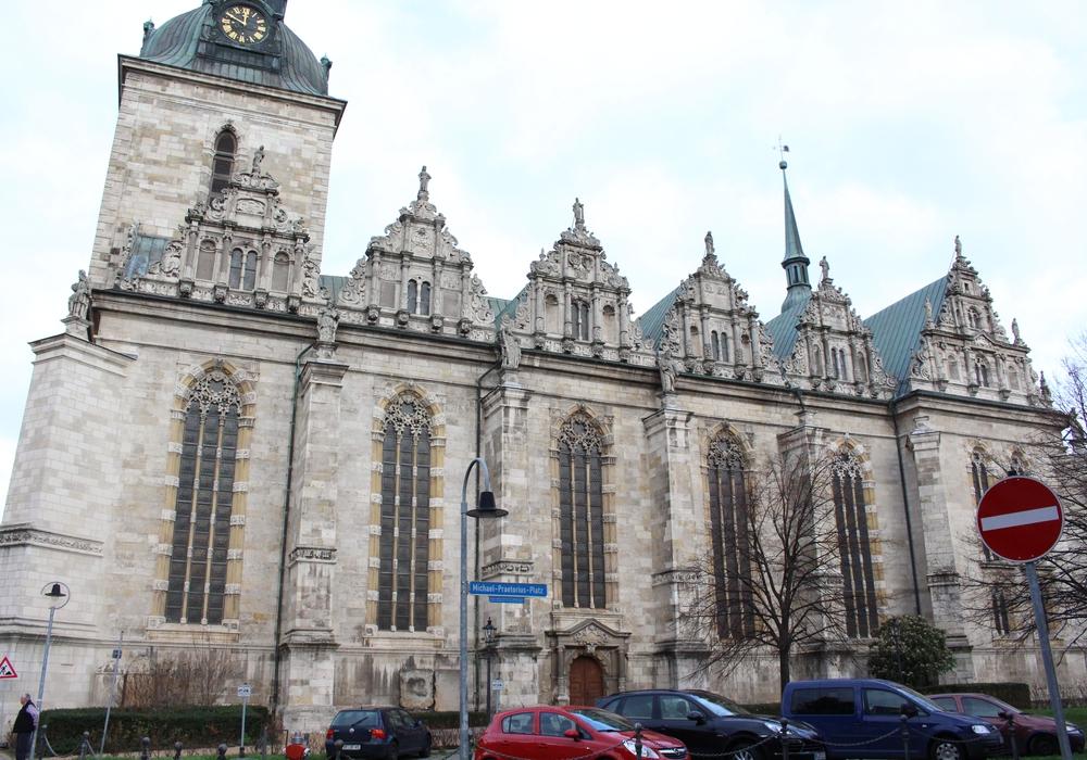 Hauptkirche Beatae Mariae Virginis zu Wolfenbüttel. Foto: Max Förster