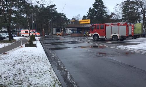 Die Feuerwehr Gifhorn Continental Teves.