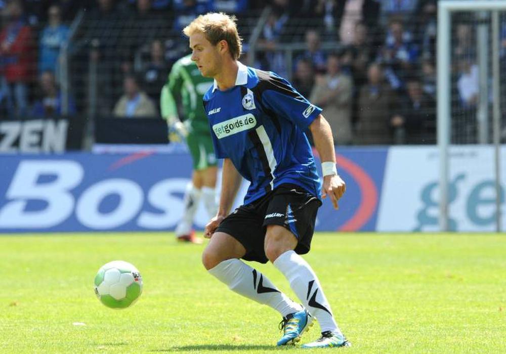 Felix Burmeister stieg 2013 mit Bielefeld in die 2. Bundesliga auf. Foto: imago