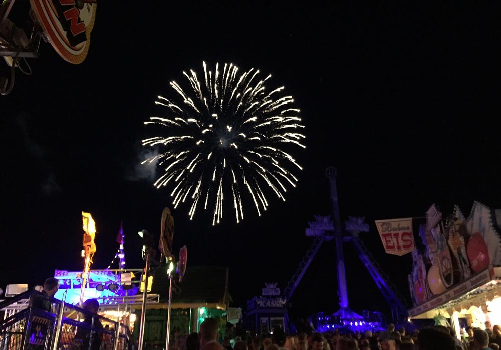 Das Schützen- und Volksfest in Goslar startet heute. Um 23 Uhr gibt es das Eröffnungs-Feuerwerk zu bestaunen. Foto: Anke Donner