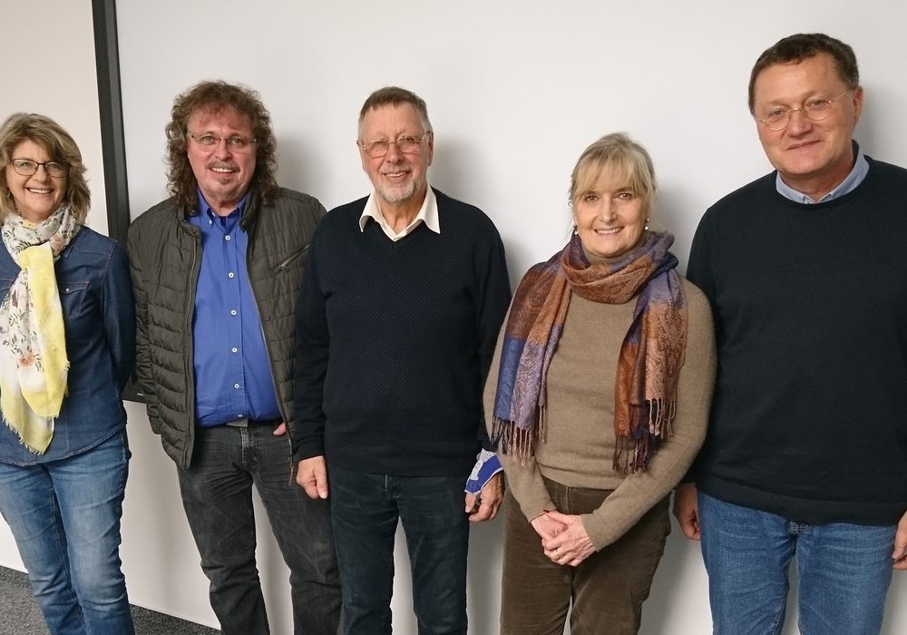 Doris Holletzek, Frank Miska, Ulrich Leidecker, Elke Streckfuß und Michael Letter. Foto: SPD