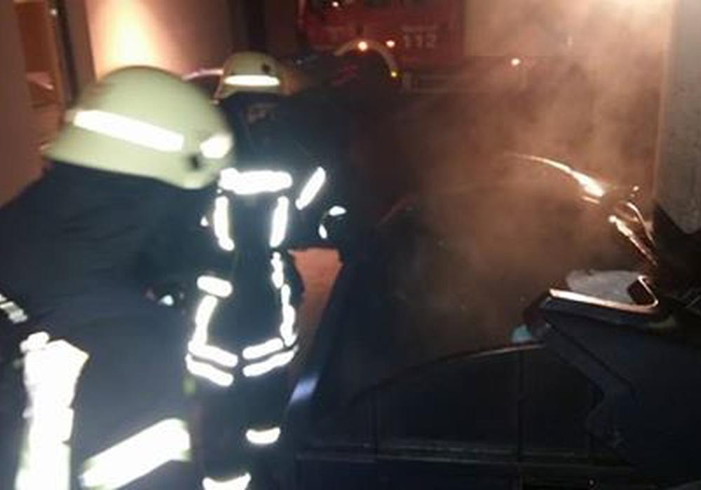 Die Feuerwehr Wolfenbüttel hatte am Freitag einiges zu tun. Foto: FFW Wolfenbüttel
