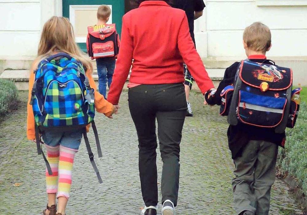 Am Samstag sind Einschulungen. Die IKK classic gibt Tipps für den sicheren Schulweg. Foto: pa Picture Alliance