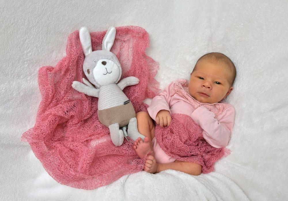 Willkommen, Pauline Burghardt. Foto: babysmile24.de