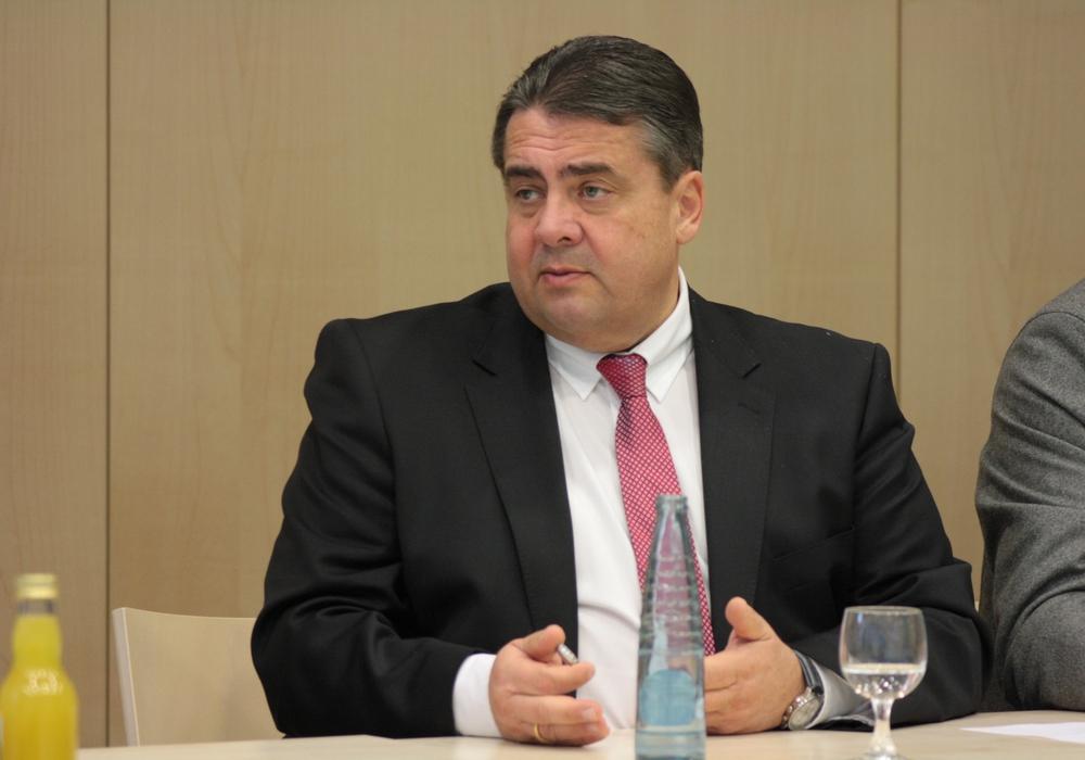 Sigmar Gabriel, SPD-Bundestagsabgeordneter und Vizekanzler. Foto: Werner Heise