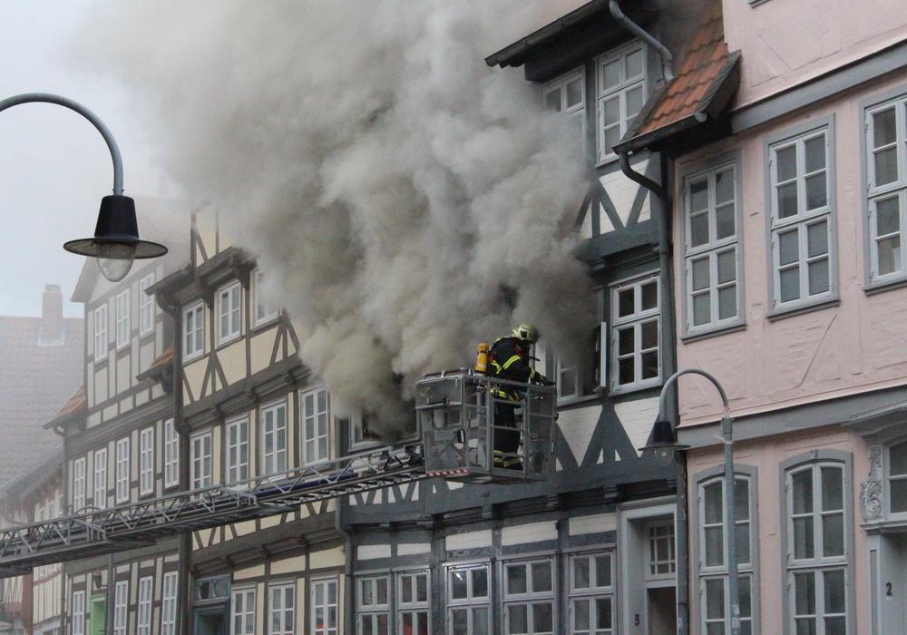 Der entstandene Sachschaden beträgt nach ersten Einschätzungen mehrere Hunderttausend Euro. Foto: Anke Donner