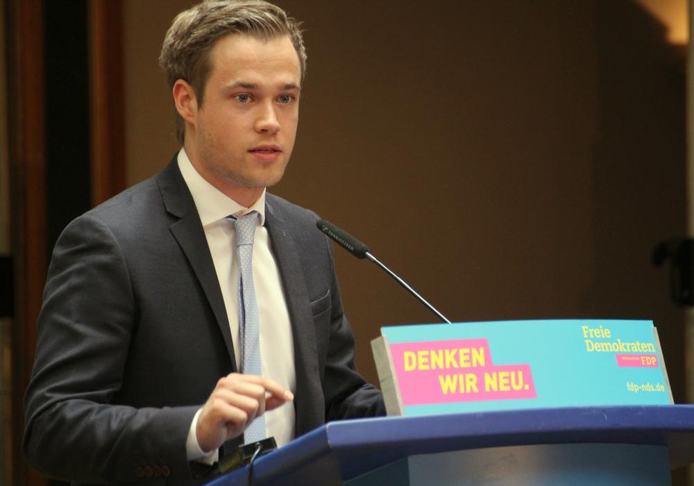 Die Jungen Liberale fordern die Einführung eines Lobbyregisters und eine Karenzzeitregelung für Niedersachsen. Dazu äußert sich Lars Alt. Foto: FDP