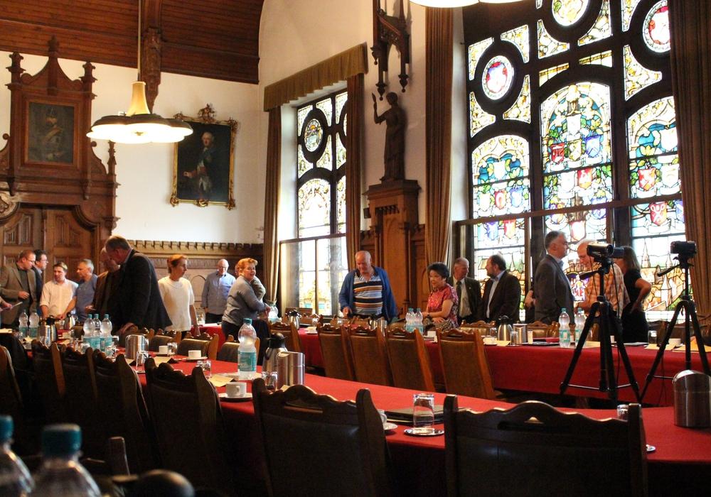 Nach der Fusion trifft sich der Interims-Rat zu seiner ersten Sitzung. Foto: Sandra Zecchino