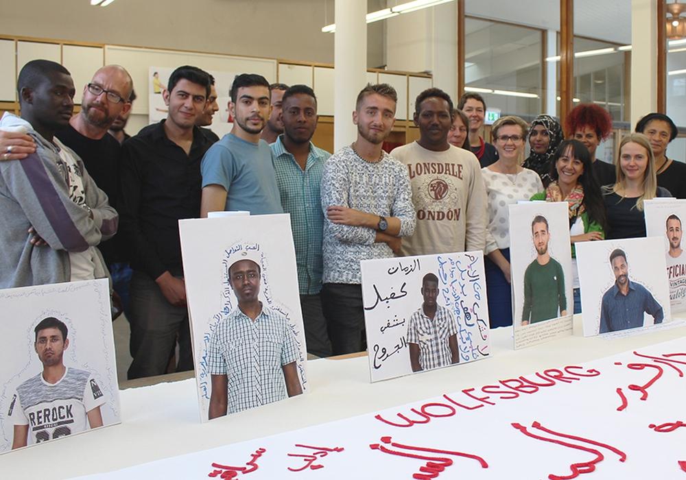 Das Projekt soll jungen Flüchtlingen helfen in Deutschland Fuß zu fassen und positive Erfahrungen zu sammeln. Foto: Stadt Wolfsburg
