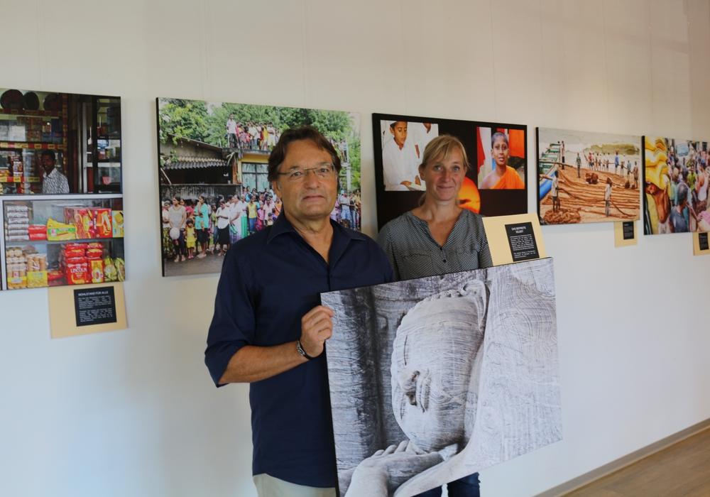 Dr. Ansgar Marx  und Walburga Schmidt, Foto: Robert Braumann