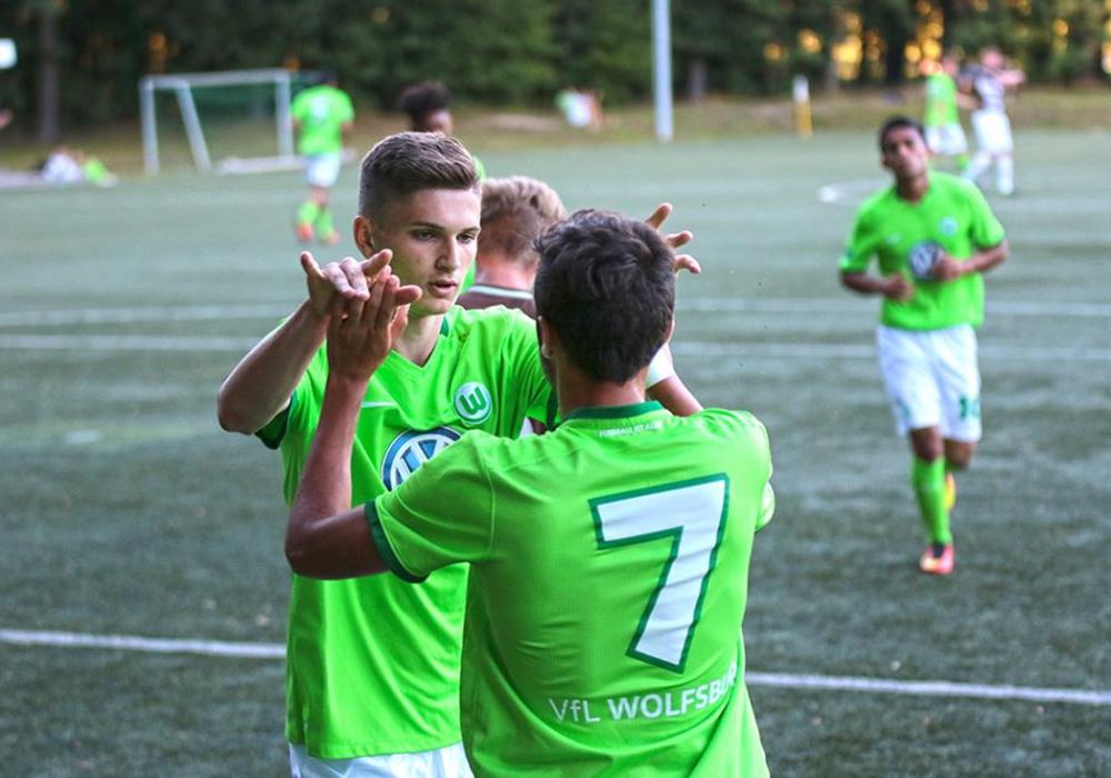 Klare Angelegenheit für den Nachwuchs des VfL Wolfsburg. Foto: Frank Vollmer/Archiv