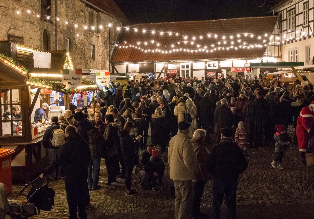 Der Gebhardshagener Weihnachtsmarkt. Archivbild