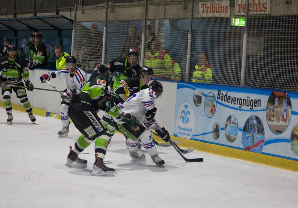 Gegen Hamburg mussten sich die Icefighters im Halbfinale der vergangenen Saison knapp geschlagen geben. Foto: Jens Bartels/Archiv