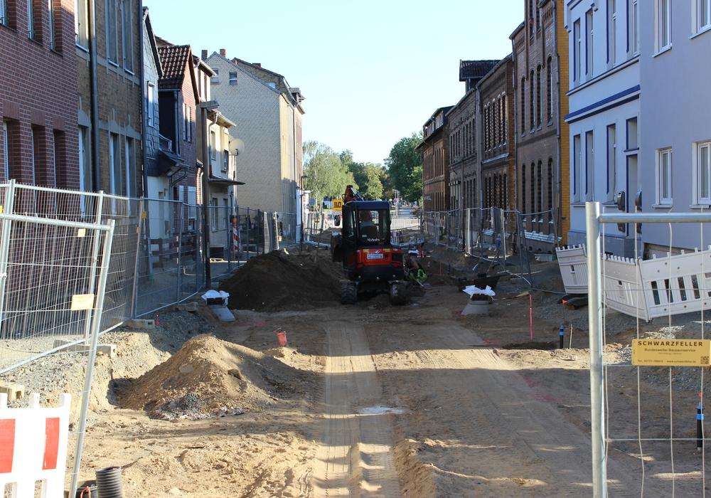 So sah die Jägerstraße noch im vergangenen Sommer aus. Foto: Frederick Becker