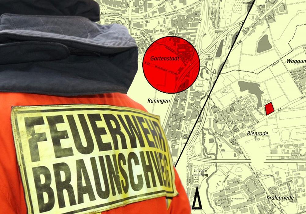 Wo die neuen Wachen entstehen könnten ist in der Planung auch schon skizziert. Foto: Anke Donner; Stadt Braunschweig