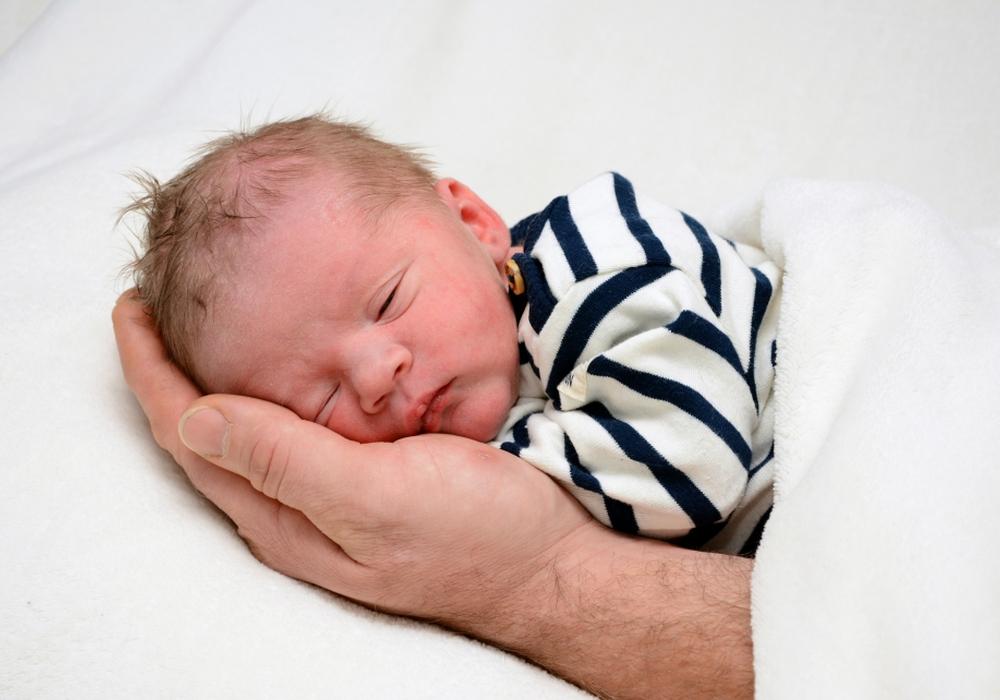 Willkommen, Oskar Homann. Foto: babysmile24.de