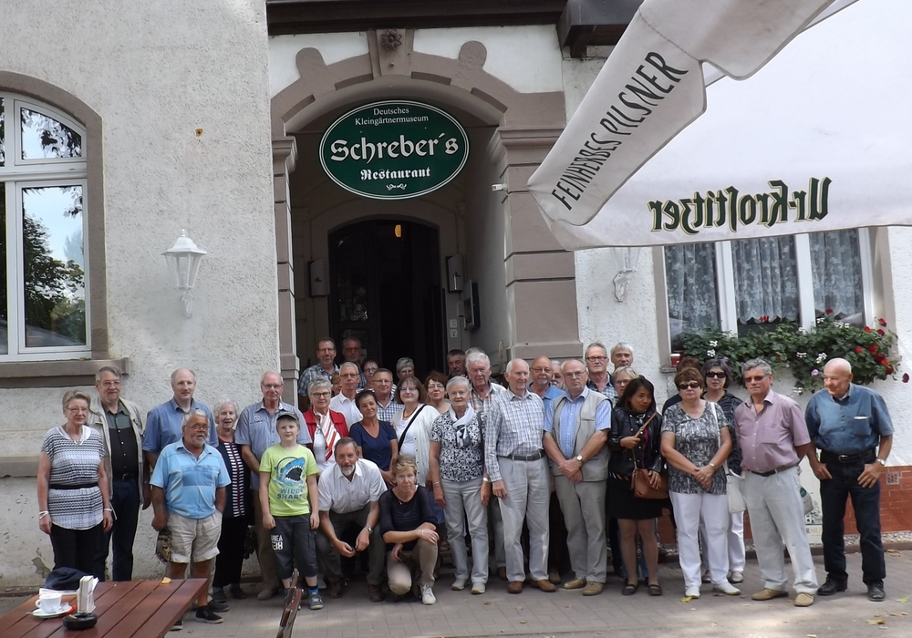 Mitglieder des Bezirksverband der Kleingärtner in Leipzig. Foto: Privat
