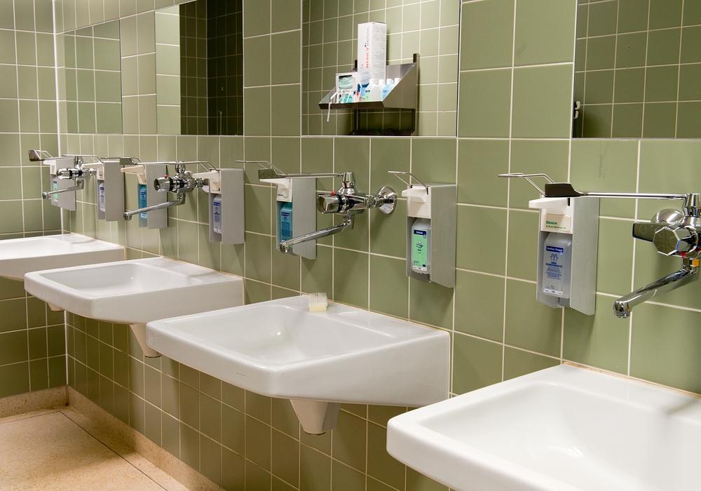 Das Klinikum Wolfsburg hält sich in Hinblick auf die Hygiene an alle Vorschriften. Foto: Lars Landmann
