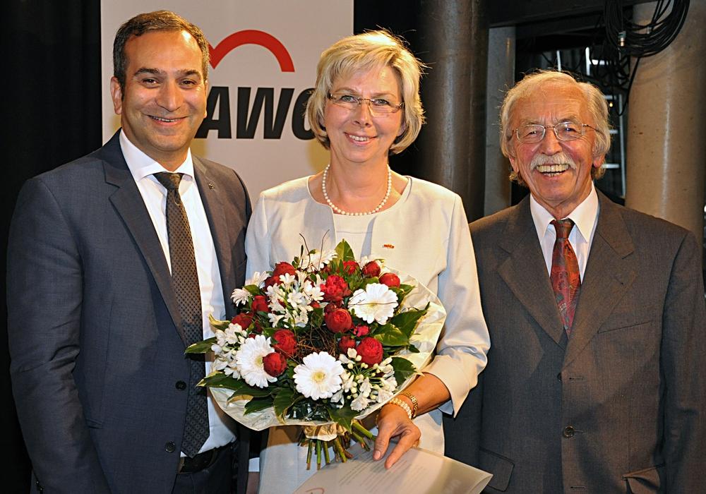 Rifat Fersahoglu-Weber, Gabriele Siebert-Paul und Walter Hiller. Foto: Privat