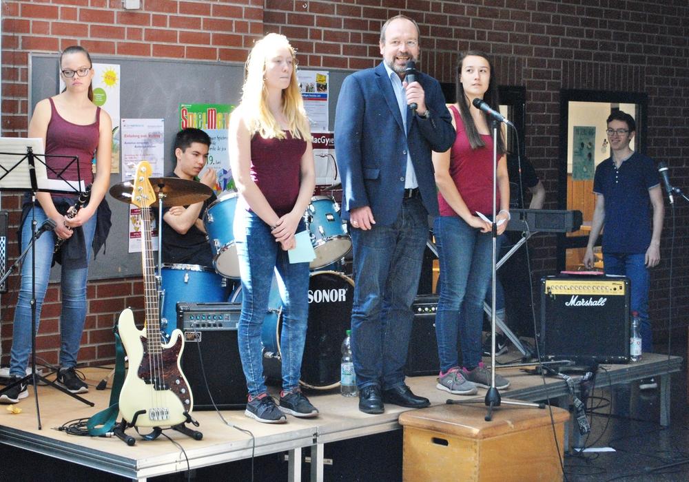 Am 9. Juni veranstalten alle Schüler der Klassenstufe 10 im Gymnasium Christophorusschule das Finale Kreativum. Foto: