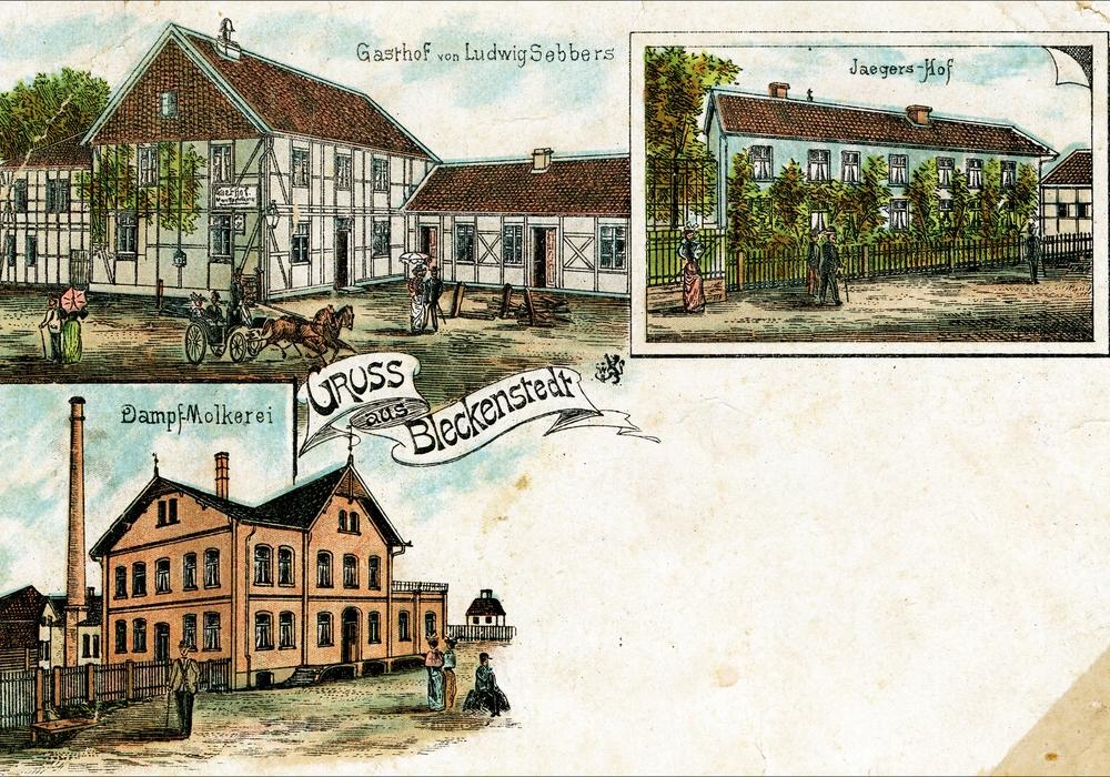 """Die """"Dampfmolkerei"""" wurde als Genossenschaft betrieben. Foto: Jörg Langenberg"""