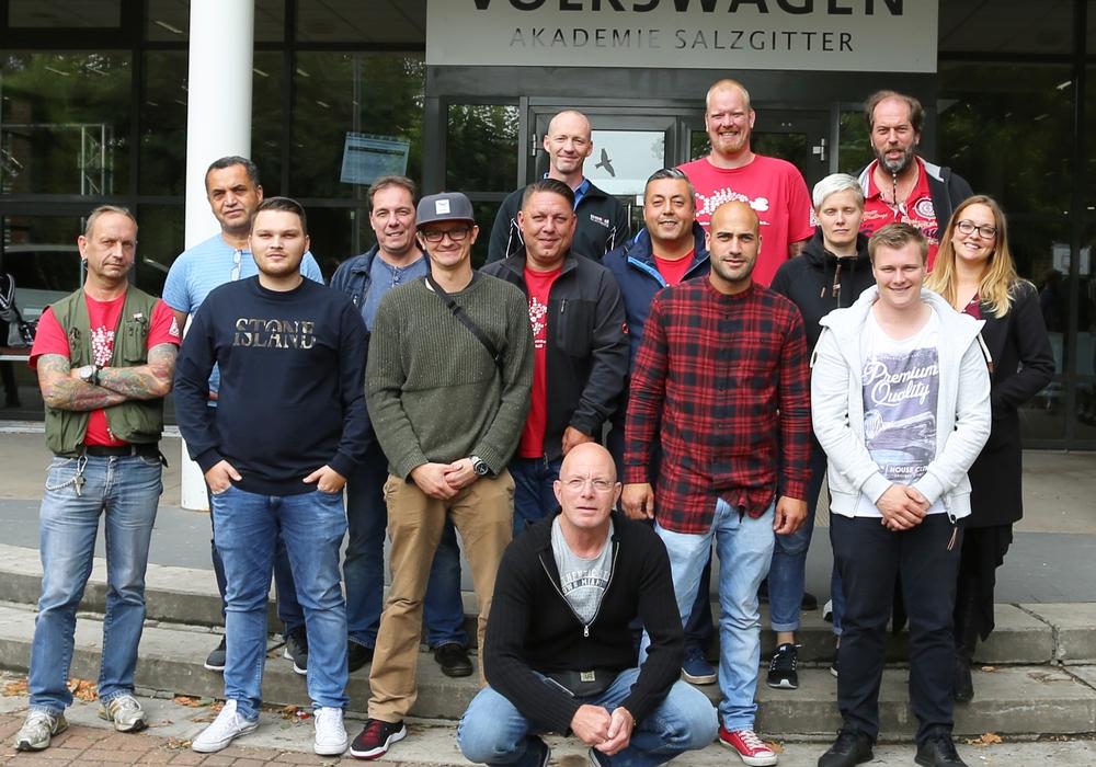 Der neue Vorstand. Foto: IG Metall Salzgitter-Peine