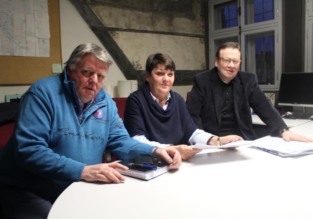 Die CDU-Ratsmitglieder Eckbert Schulze, Birgit Oppermann und Winfried Pink. Foto: Alexander Dontscheff
