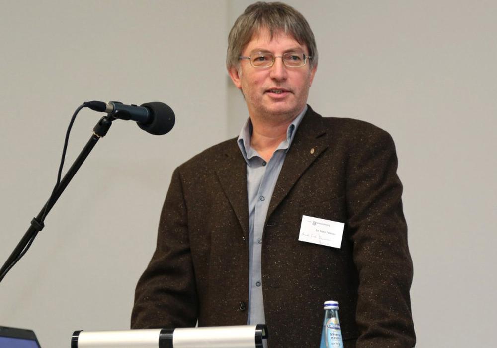 Dr. Falko Feldmann von der Deutschen Phytomedizinischen Gesellschaft e.V. (DPG) und dem Julius Kühn-Institut (JKI). Foto: Protohaus
