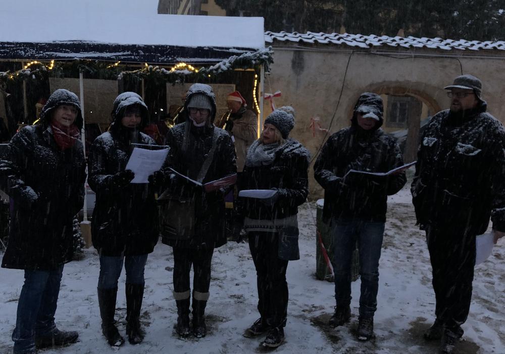 Am zweiten Advent fand auf dem Rittergut in Dorstadt der Adventsmarkt statt. Fotos: Peter G. Matzuga