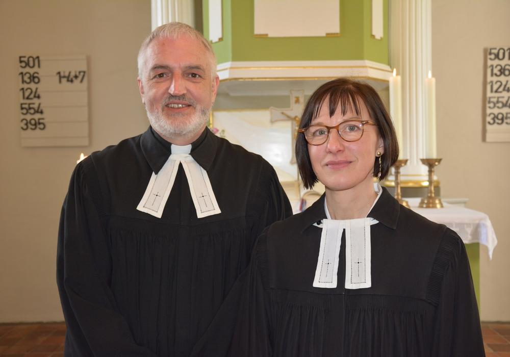 Das Ehepaar Lange möchten die Pfarrstelle in Wipshausen und Abbensen übernehmen. Foto: Privat